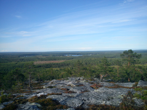 Utsikt Degerberget